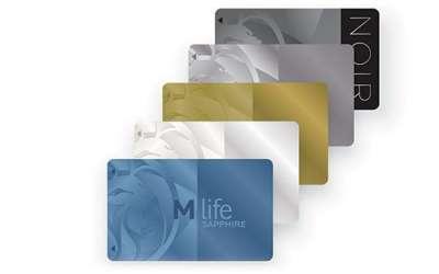 『M life players club』のメンバーズカード