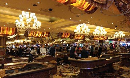 ベラージオホテルのカジノフロア