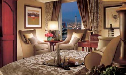 ベラージオホテルの客室