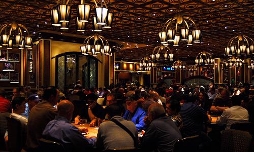 ベラージオホテルのポーカールーム