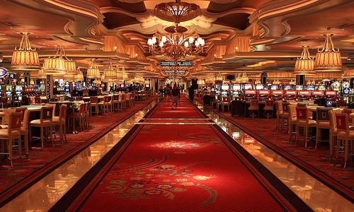 広大な面積を持つカジノ