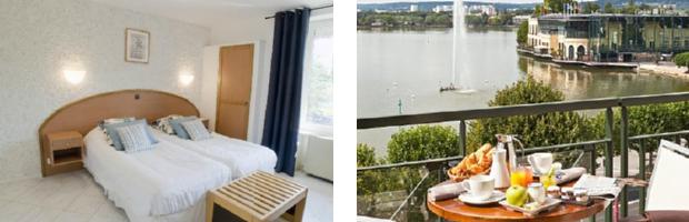 ホテル・ドゥ・ラック・ダンギャン・レ・バン
