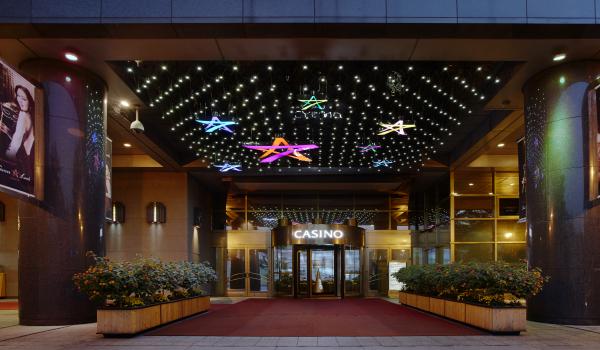 セブンラックカジノ・ソウル江南 コエックス店の入口