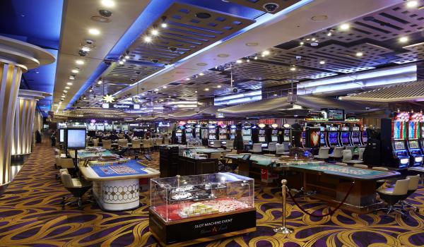セブンラックカジノ・ソウル江南 コエックス店のカジノフロア