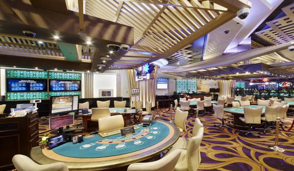 セブンラックカジノ・ソウル江南 コエックス店のテーブルゲームフロア