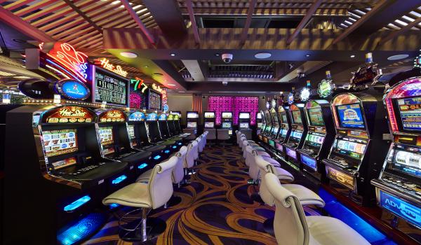 セブンラックカジノ・ソウル江南 コエックス店のマシンゲームフロア