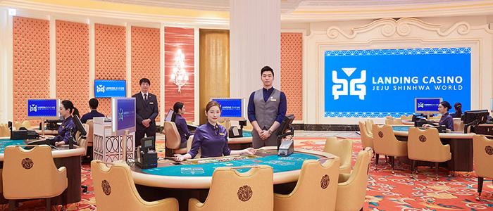 ランディングカジノのパビリオンエリア