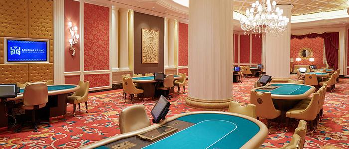 ランディングカジノのポーカークラブエリア