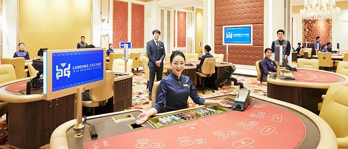 ランディングカジノの鼎盛スイートエリア