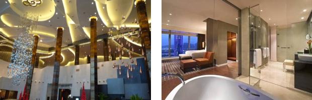 シティ・オブ・ドリームス内のホテルの客室