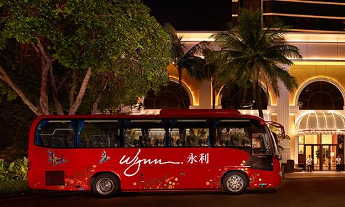 ウィン・マカオのシャトルバス