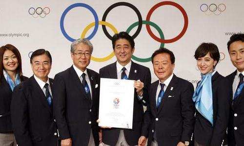 東京オリンピック開催決定