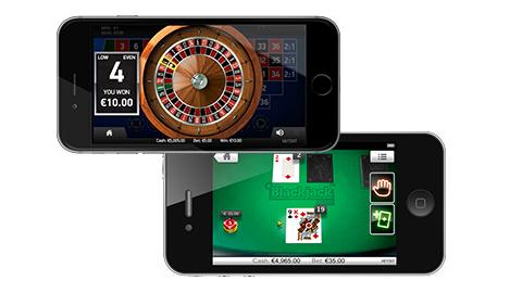 オンラインカジノ画面