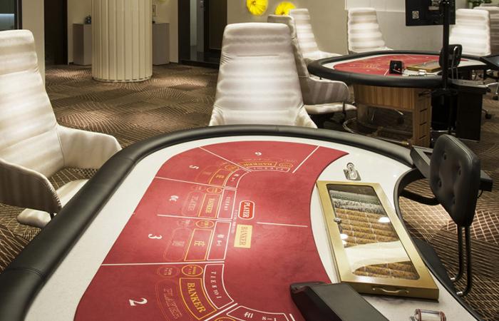 パラダイスカジノ済州グランドのテーブルゲームフロア