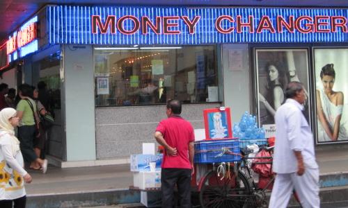 シンガポールで両替